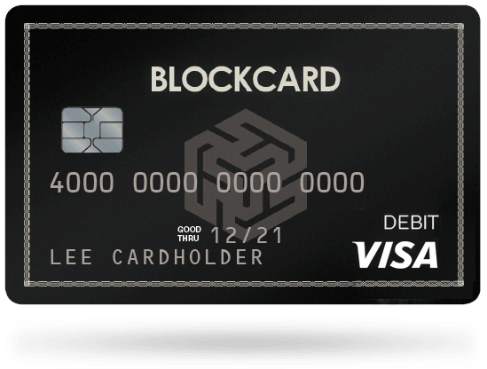 Gilded users can accept crypto payments with their BlockCard and spend it anywhere major credit cards are accepted.
