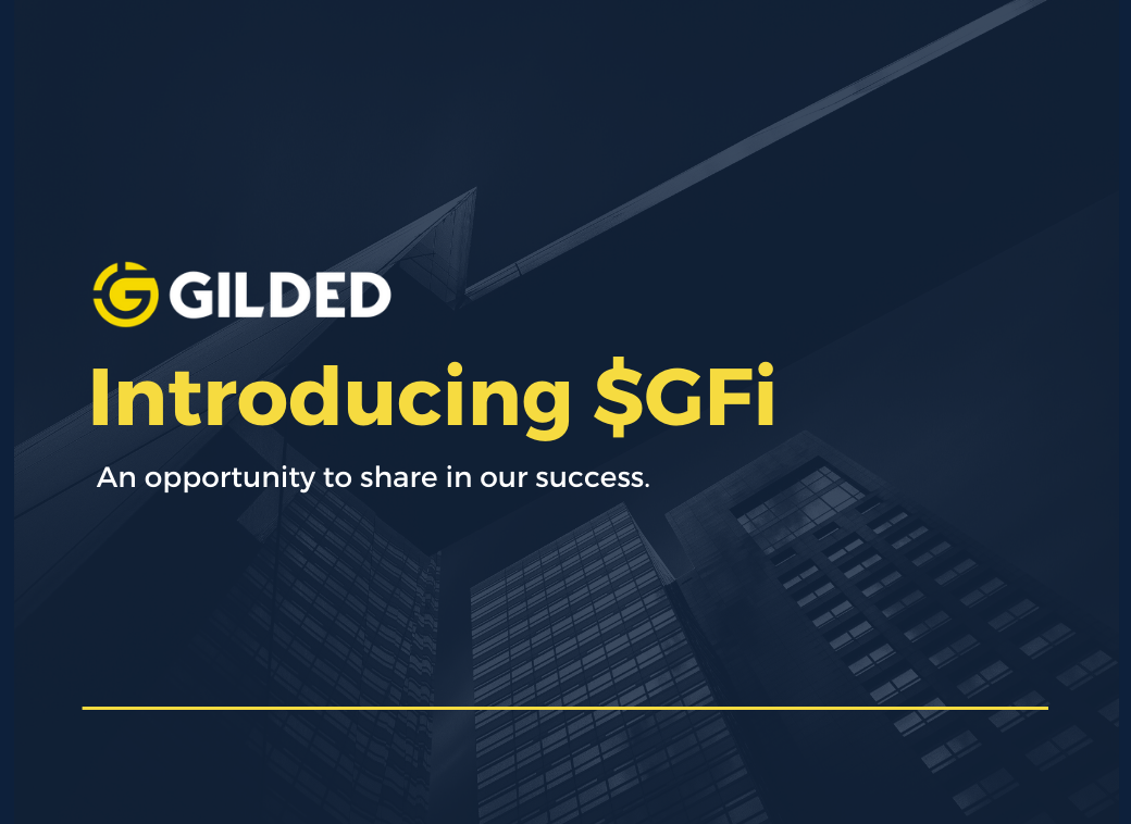 Introducing $GFi: Invest In Business Adoption Of Blockchain And Digital Currency