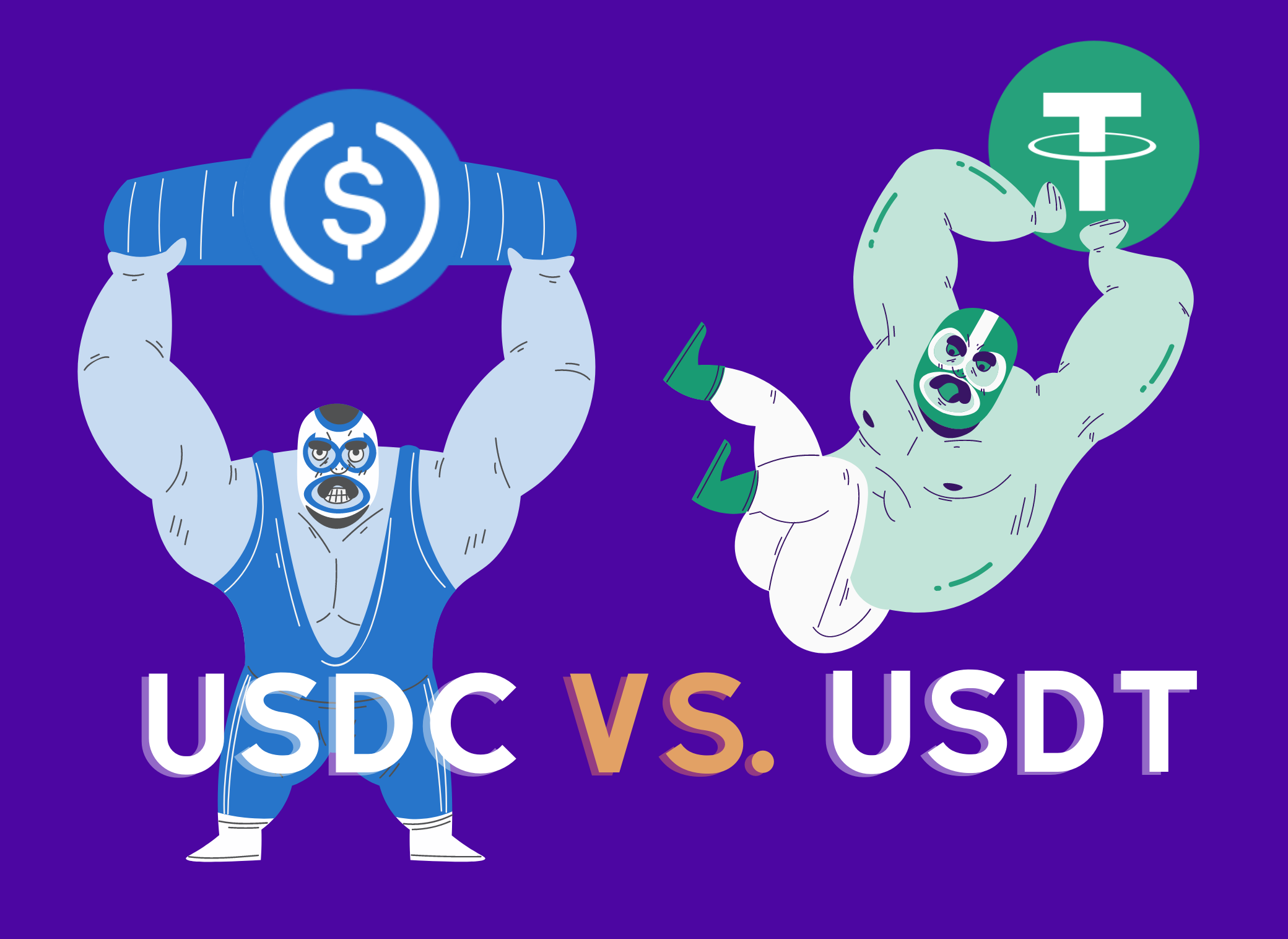 USDC vs. USDT: Which stablecoin should you use?