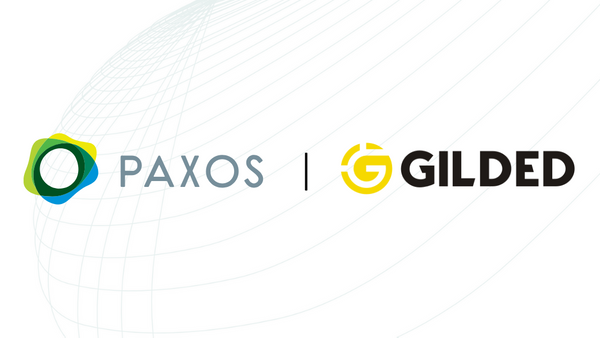 Paxos and Gilded Enable Instant Business Payments